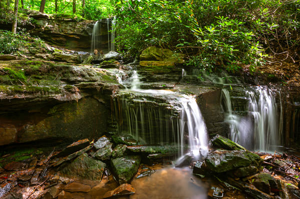 Tiered Waterfalls