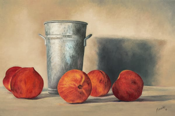 Peaches   Prints Art   Mercedes Fine Art