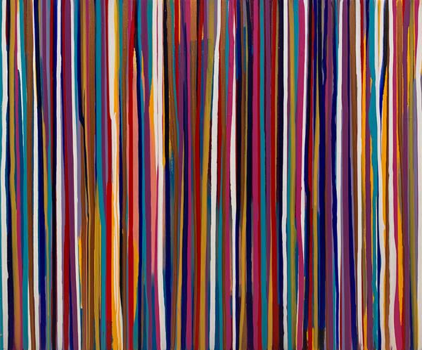 Blurred Lines Art | Courtney Einhorn