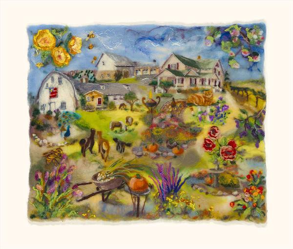 """Elderberry Acres"" fine art print by Paula Jean Roberts."