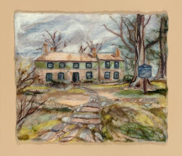 """Historic Sydenham House"" fine art print by Paula Jean Roberts."