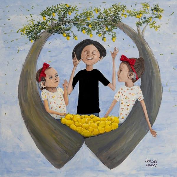 Lemonaid Girls Art | Priscila Soares - MyLuckyEars