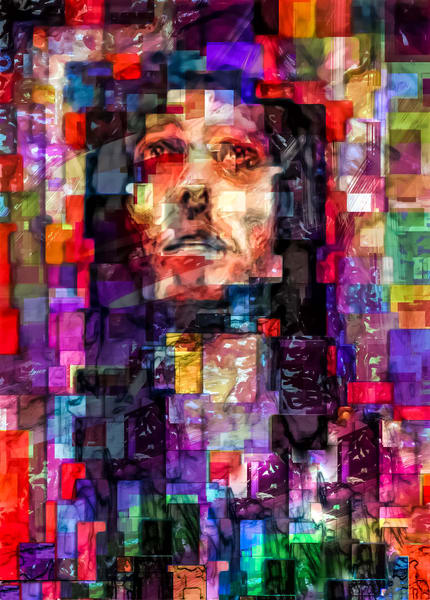 """""""Abstract Jesus"""" Photography Art 