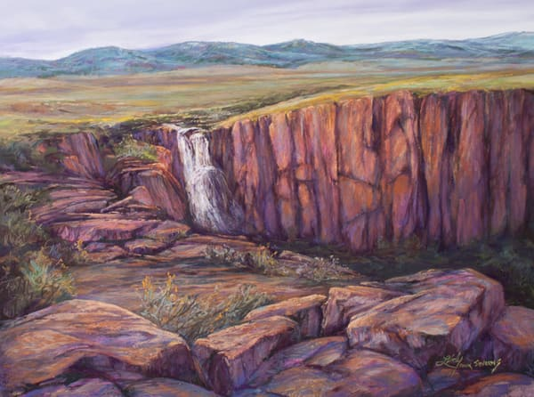 Lindy Cook Severns Art | Rocky Mountain Champagne, print