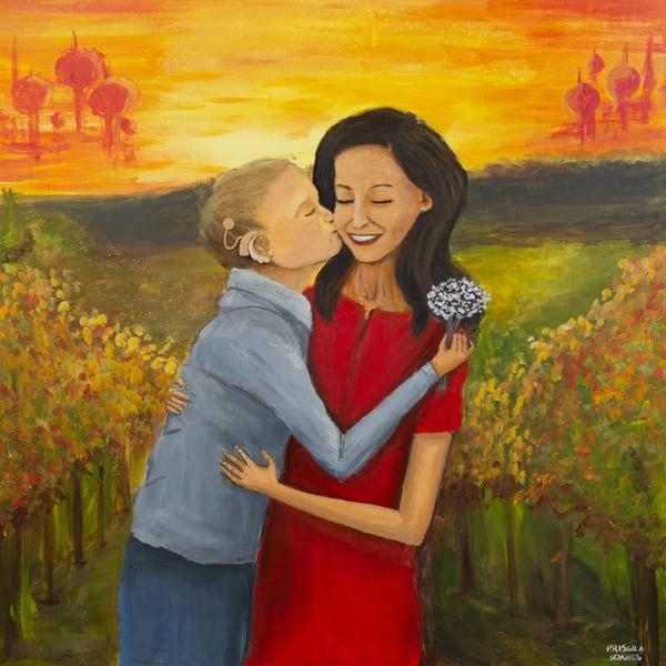 Under The Golden Sun Art | Priscila Soares - MyLuckyEars