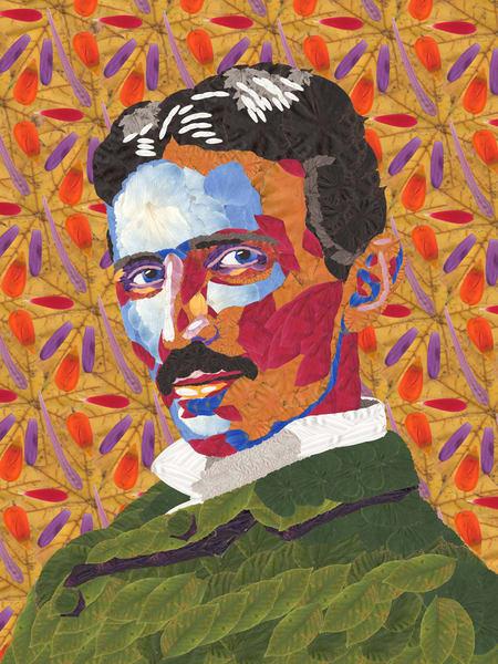 Nikola Tesla Art   smacartist