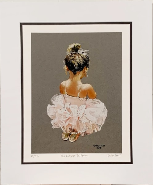 The Littlest Ballerina Art | Greg Stett Art