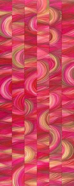 2x5 Pink/Red - Original