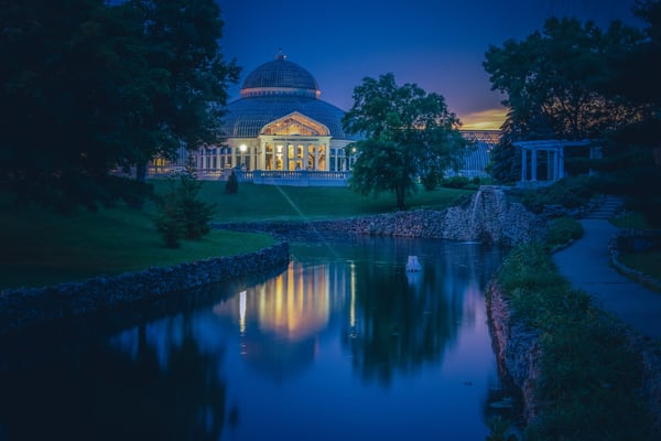 Conservatory Sunset 2 Photography Art | William Drew Photography