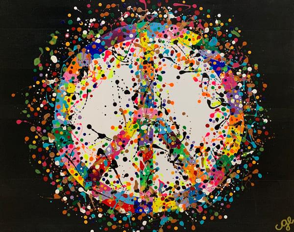 Give Peace A Chance Art   Courtney Einhorn