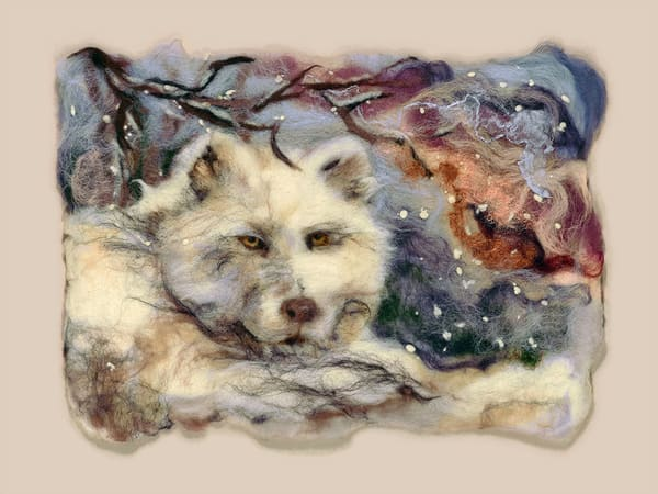 """Night Watch"" fine art print by Paula Jean Roberts."