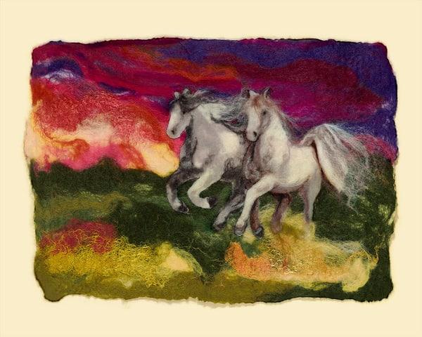 """The Thunder Rolls"" fine art print by Paula Jean Roberts."