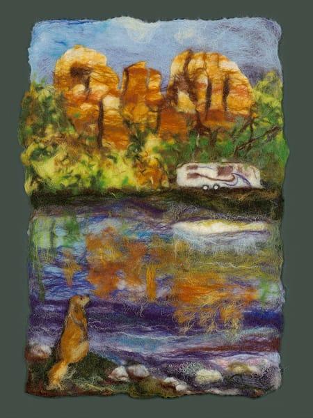 """Travel Bags"" fine art print by Paula Jean Roberts."