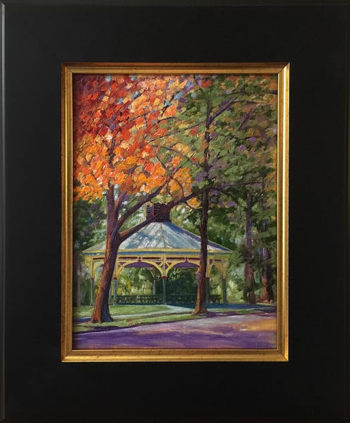 Fall Glow At The Humboldt Pavilion Art | Moore Design Group