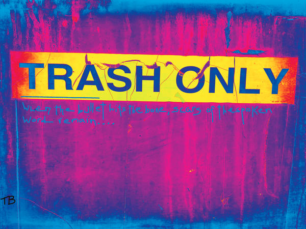 Trash Only|Fine Art Photography by Todd Breitling|ToddBreitlingArt.com