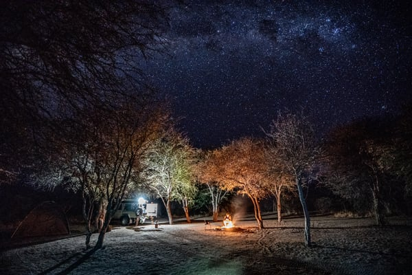 Camp Under The Stars Photography Art | Tolowa Gallery