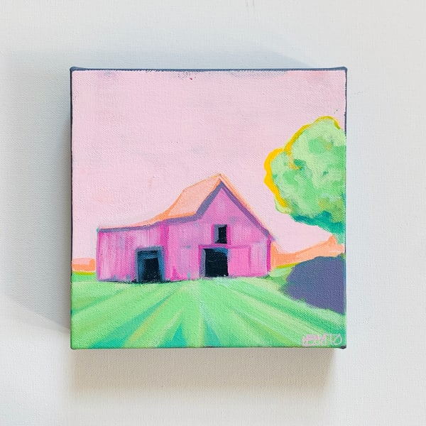 Pink Barn | Lesli DeVito