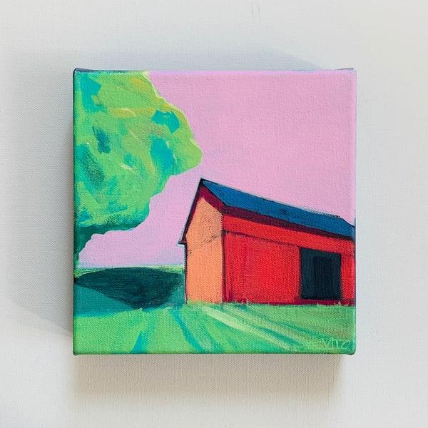 New!   Old Red Barn | Lesli DeVito