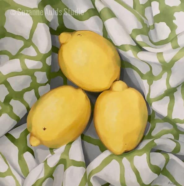 Tropical Citrus Art | Suzanne Aulds Studio