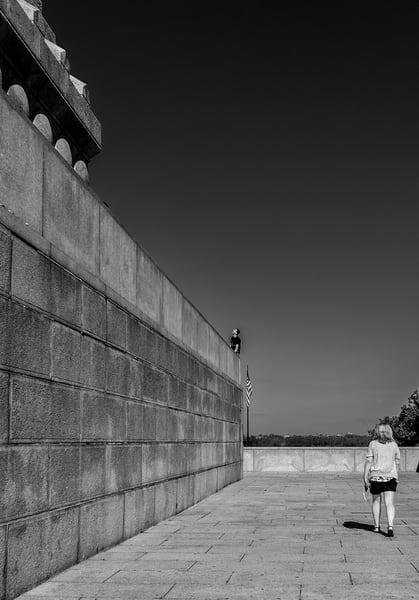 Scaling Liberty Photography Art | GW Fine Art Images