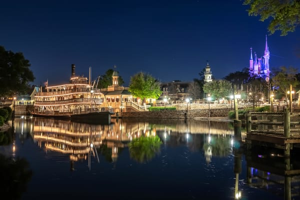 Magic Kingdom Reflections - Disney World Art | William Drew