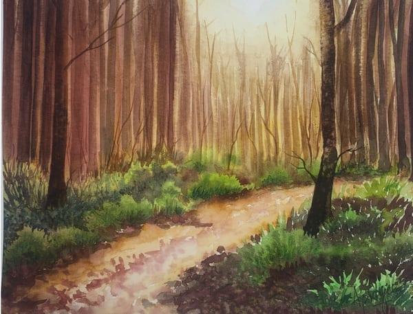 """""""Enchanted"""" Art Print by Aprajita Lal"""