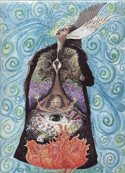 Inner Child World   Original Art | Priscila Soares - MyLuckyEars