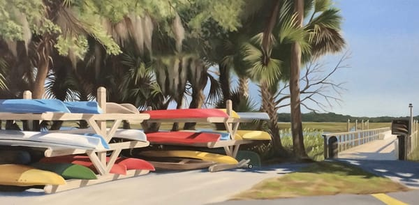 Moss Creek Marina Art   Suzanne Aulds Studio