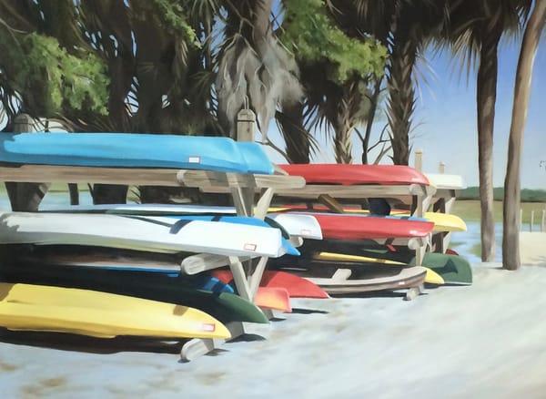 Kayak Road Art   Suzanne Aulds Studio