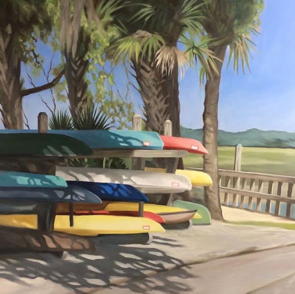 Carrie's Kayaks Art | Suzanne Aulds Studio