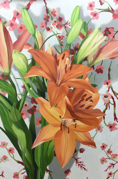 Tiger Lilies Art | Suzanne Aulds Studio