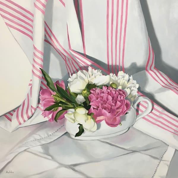 Pink Peonies Art | Suzanne Aulds Studio