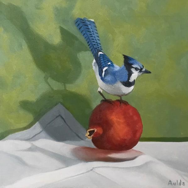 Bluejay Art   Suzanne Aulds Studio