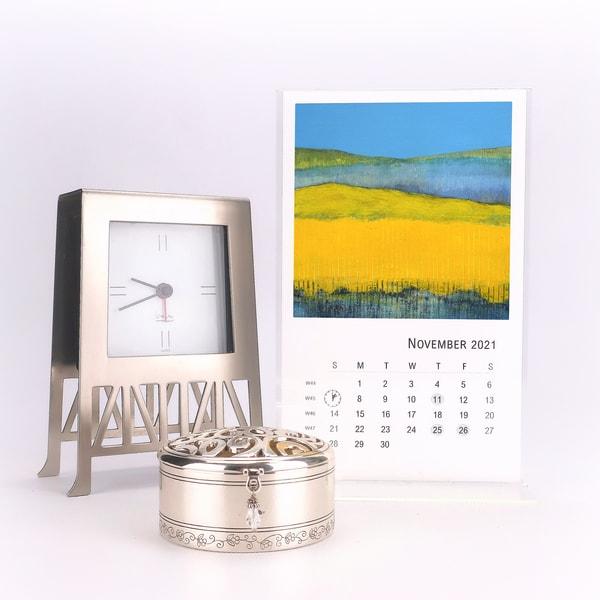 2021 Tabletop Calendar | Cynthia Coldren Fine Art