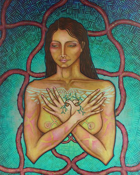 Freedom To Love (Original)  Art | Adelaide Marcus