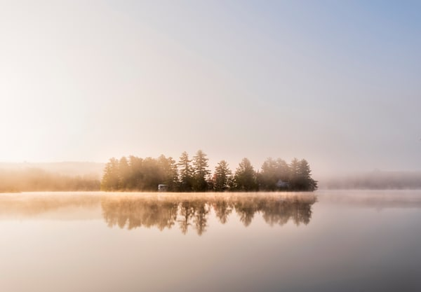 Otter Lake Island  Photography Art | Kurt Gardner Photogarphy Gallery
