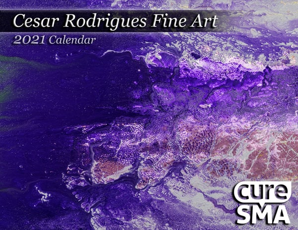 Cure Sma Calendar 8.5''x11'' | Cesar Rodrigues fine art