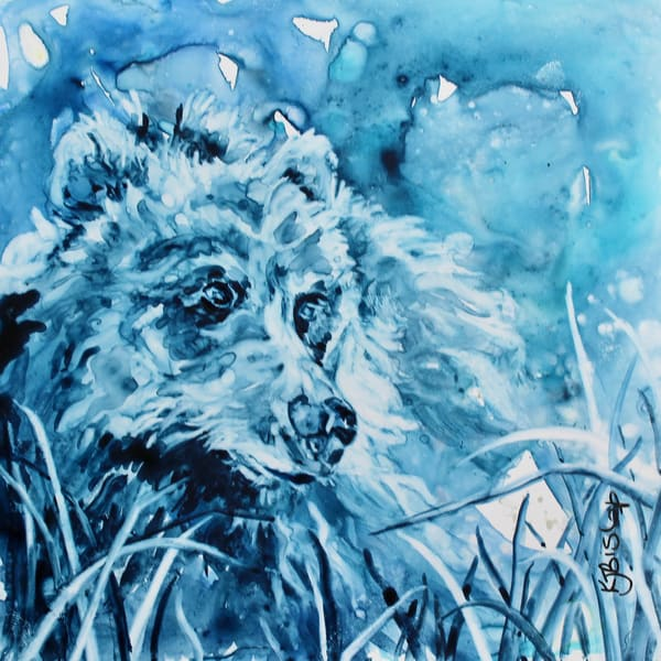 Blue Bear Art | Karen Bishop Artist