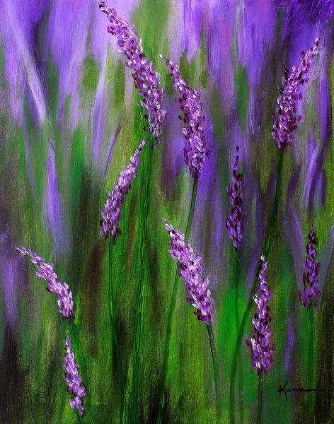 Lavender Garden Art | Kume Bryant Art