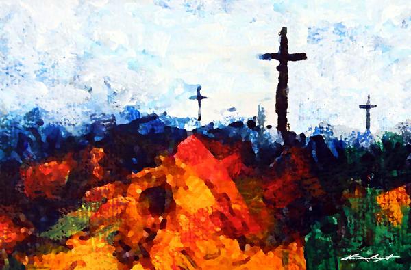 The Three Crosses Art | Kume Bryant Art