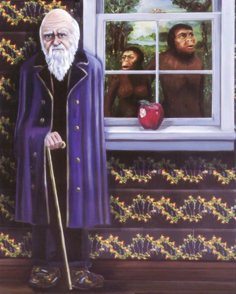 Darwin: Evolution 101 Art | Channe Felton Fine Art