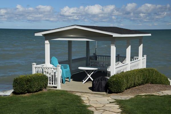 Boathouse Lake Huron Art | DocSaundersPhotography