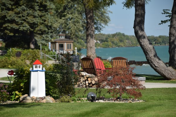 Lake Huron Lighthouse Art | DocSaundersPhotography