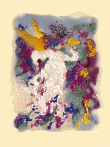 """Wild Angel I"" fine art print by Paula Jean Roberts."