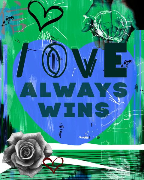 give seven days, love, peace, unity, art, shop art,