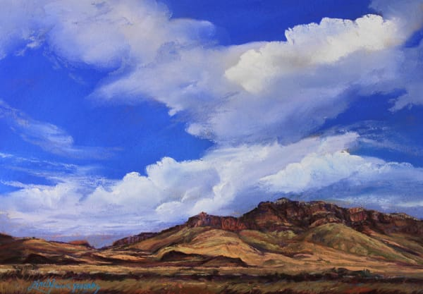 Lindy Cook Severns Art | Skyburst Over Blue Mountain, print