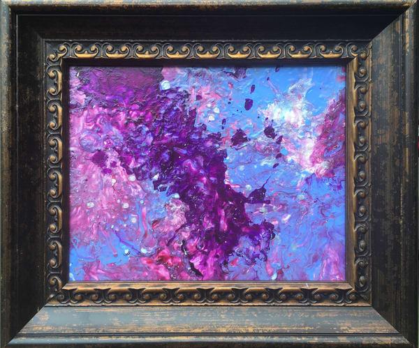 Freeform  Acrylic  Framed  Art | Anonymous Art Studios