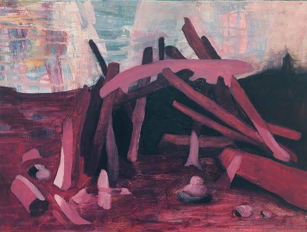 Dream Lodge (Violet) Art | Friday Harbor Atelier