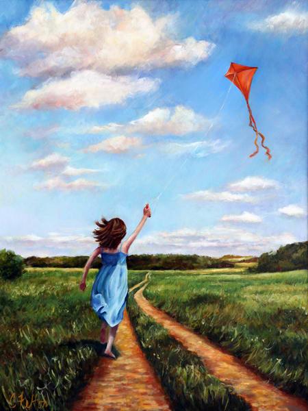Windy Art   Channe Felton Fine Art
