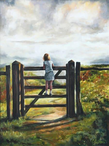 Waiting Art | Channe Felton Fine Art